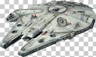 Han Solo Millennium Falcon Plastic Model Star Wars Revell PNG