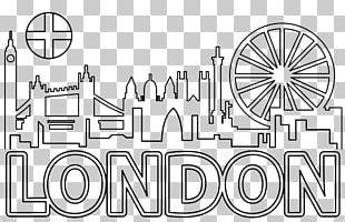 Euclidean London City Scape PNG
