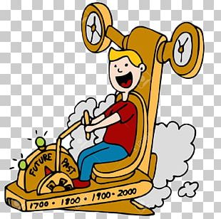 Time Travel Cartoon Graphics PNG