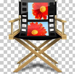 Flower Table Chair PNG