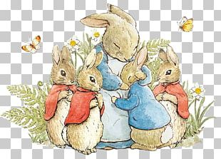 The Tale Of Peter Rabbit And Benjamin Bunny Mrs. Rabbit The Tale Of The Flopsy Bunnies PNG