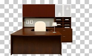 Desk Office File Cabinets Table Furniture PNG