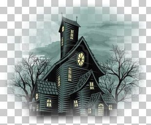 Haunted House Who Murdered Mr. Malone? Ghost Drawing PNG