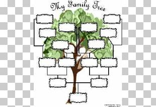 Genealogy Family Tree Template Diagram Chart PNG