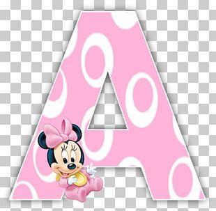 Minnie Mouse Letter Latin-script Alphabet PNG