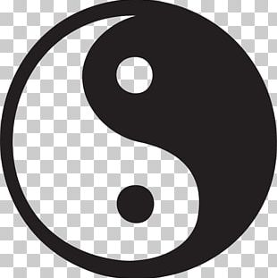 Yin And Yang Symbol Desktop PNG
