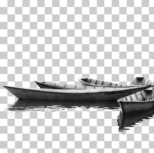 Black And White Boat Yacht Photography PNG