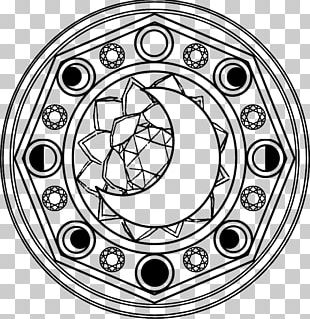 Chibiusa Sailor Saturn Sailor Moon Magic Circle PNG
