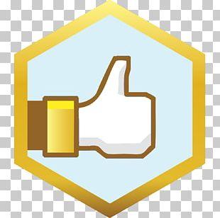Facebook Like Button Thumb Signal Social Media PNG
