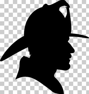 Firefighter Silhouette Fire Department PNG
