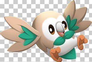 Pokémon Sun And Moon Pokémon GO Rowlet Pokédex PNG