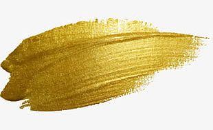 Gold Paint Color PNG