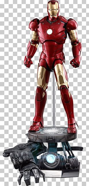 Iron Man Action & Toy Figures Hot Toys Limited Sideshow Collectibles 1:6 Scale Modeling PNG