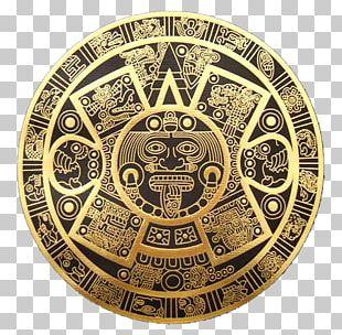 Maya Civilization Aztec Calendar Stone Mayan Calendar PNG