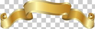 Brass Yellow Material Angle PNG