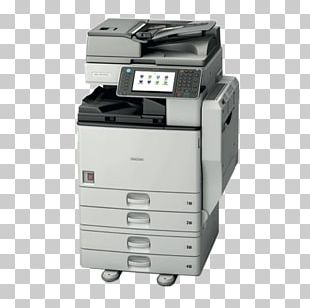 Paper Ricoh Photocopier Multi-function Printer PNG