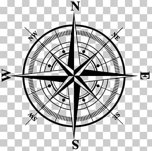 North Compass Rose PNG