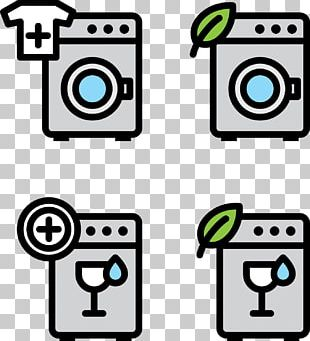 Laundry Symbol Washing Machine Self-service Laundry PNG