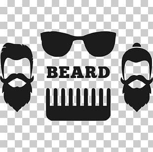 Vintage Clothing Logo Hipster Beard PNG