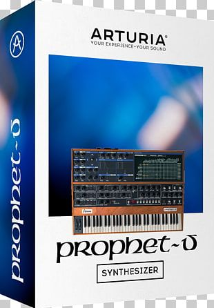 Sequential Circuits Prophet-5 Yamaha DX7 ARP 2600 Arturia Sound Synthesizers PNG