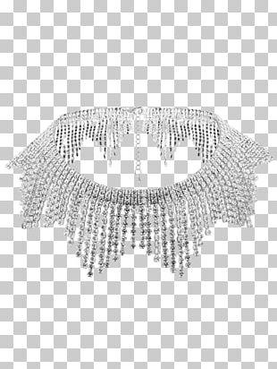 Earring Necklace Choker Jewellery Imitation Gemstones & Rhinestones PNG
