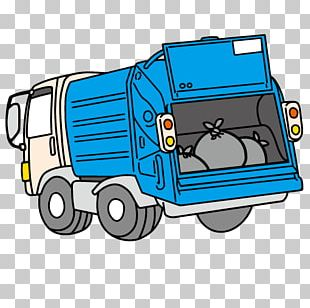 Car Motor Vehicle Garbage Truck Waste Collection PNG