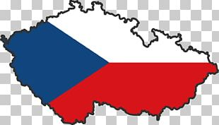 Flag Of The Czech Republic Map PNG