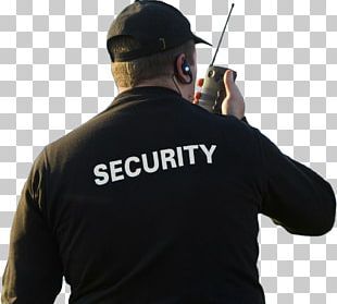 Security Guard Security Company Safety Police Officer PNG