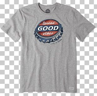 T-shirt Clothing Life Is Good Company Sleeve PNG