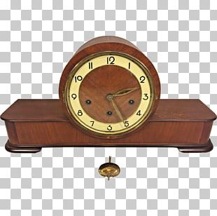 German Clock Museum Table Mantel Clock Fireplace Mantel PNG
