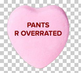 Love Pink M Heart Sticker PNG