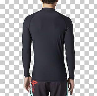 Rash Guard Sleeve Shirt Tuxedo Fox Racing PNG