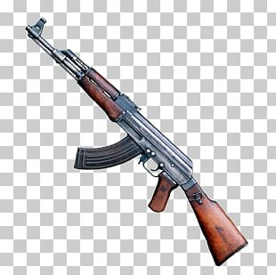 AK-47 Firearm PNG