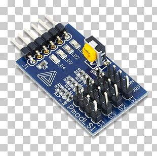 Microcontroller Sensor Pmod Interface Integrated Circuits & Chips Electronic Component PNG
