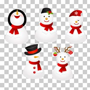 ICO Christmas Snowman Icon PNG