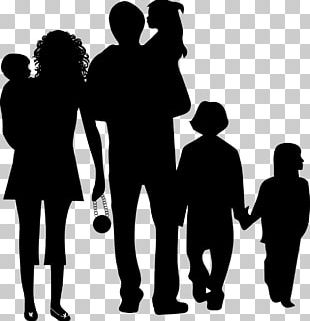 Family Silhouette Father PNG