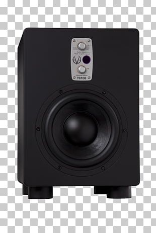 Subwoofer Studio Monitor Computer Speakers Sound Recording Studio PNG