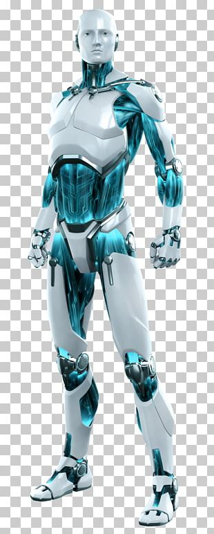 Robot Cyborg Android ESET Computer Security PNG