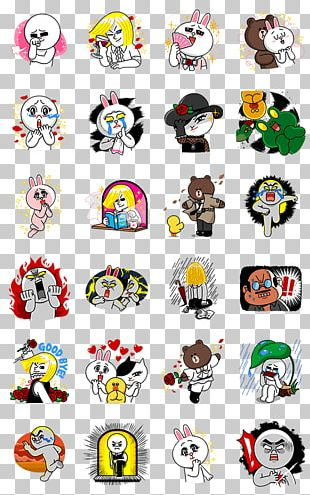 Sticker LINE Virtual Private Network Animation PNG