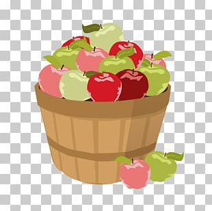 The Basket Of Apples Strawberry Juice PNG