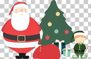 Santa Claus Christmas Ornament Christmas Tree Christmas Card PNG