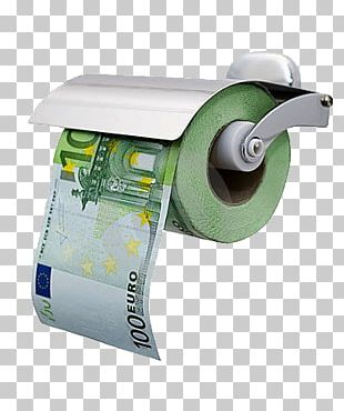 Toilet Paper 100 Euro Note Banknote PNG