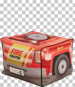 Car Bean Bag Chairs Fire Engine Motor Vehicle PNG