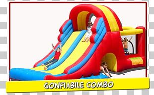 Inflatable Bouncers Child Playground Slide Castle PNG