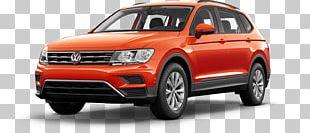 2018 Volkswagen Tiguan Car Sport Utility Vehicle Volkswagen Atlas PNG