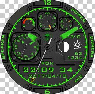Green Motor Vehicle Speedometers Product Design Tachometer PNG