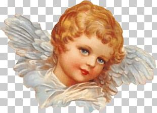 Victorian Angel Head PNG