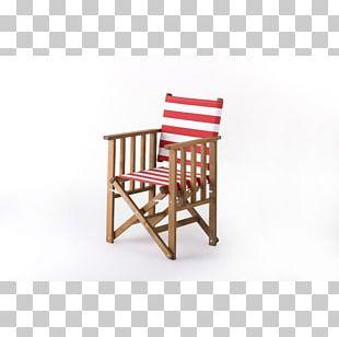 Deckchair Chaise Longue Canvas Garden Furniture PNG