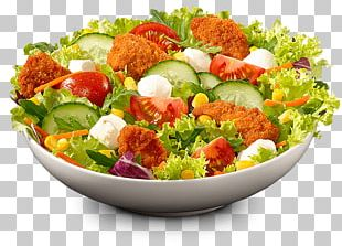 Caesar Salad Chicken Fingers Crispy Fried Chicken Fast Food Hot Chicken PNG