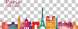 Paris Drawing Illustration PNG